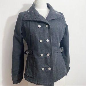 JOUJOU double breasted side belt lined jacket M